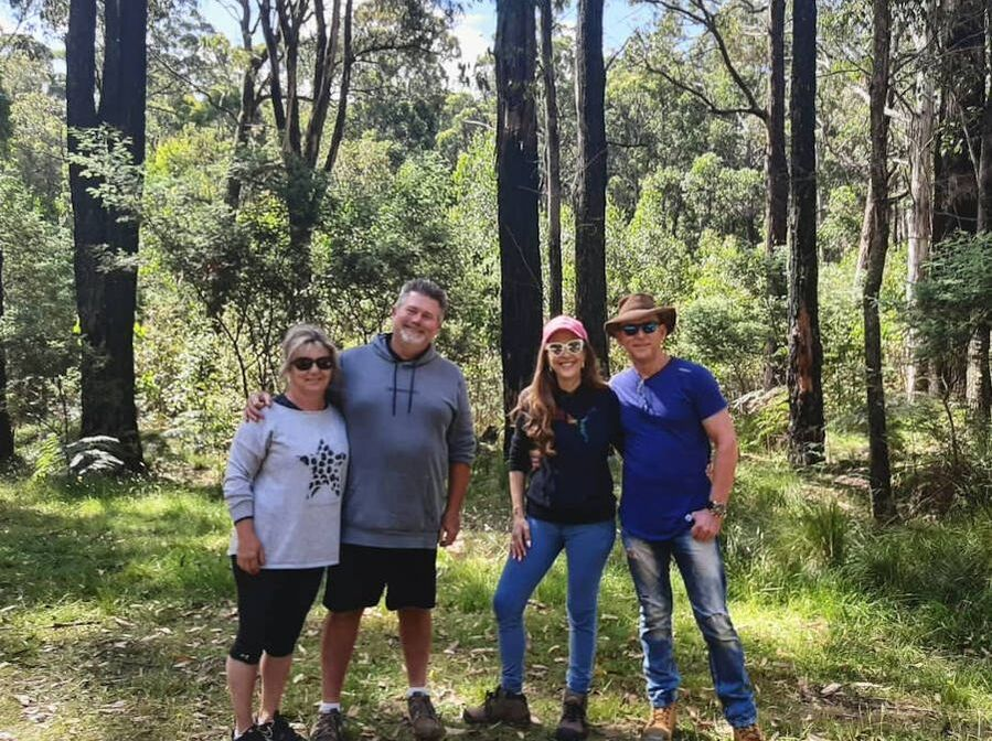 forest bathing bushwalking group victoria